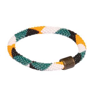 Sherpa Mayalu Dhaka Roll On Bracelet mani gold